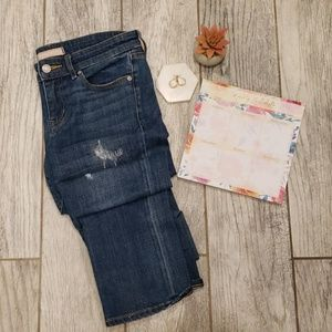 Uniqlo Slim Tapered Mid-Rise Jeans Size 26